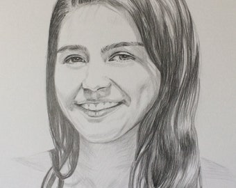 Custom Sketch Custom Pencil Sketch Drawing Portrait