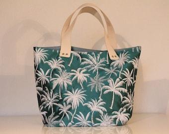 Sack SAUSALITO Palm motifs