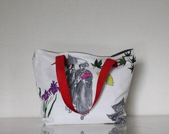 SAUSALITO bag Japanese patterns (small model)