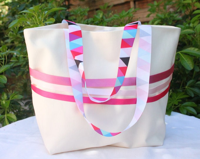 "Tote bag ""Sausalito"" small model"