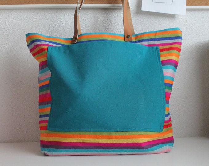 Multicolored SAUSALITO bag (small model)