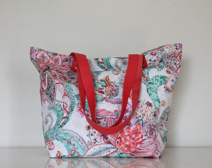SAUSALITO bag with colorful patterns