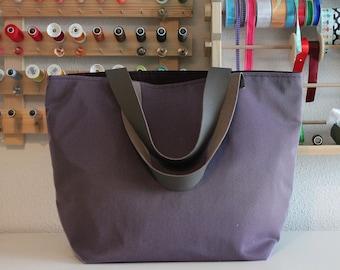 Bag SAUSALITO purple tulle