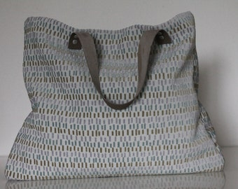 VAIANA bag in cotton and velvet