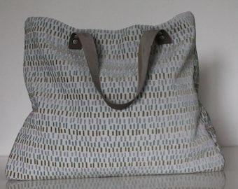 Thomas cotton and velvet bag