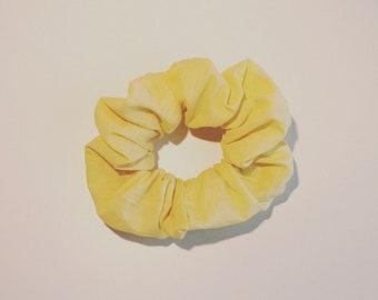 CHOUCHOU in pastel yellow cotton