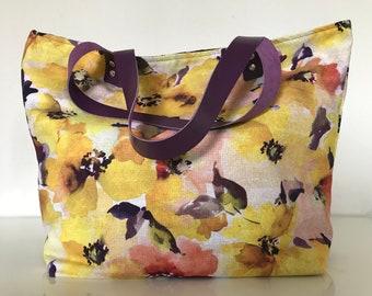 SAUSALITO flowers bag