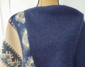 Felted Wool Poncho/Wrap