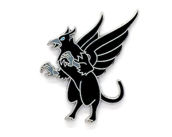 Griffin Pin - Gryphon Pin - Hard Enamel Pin