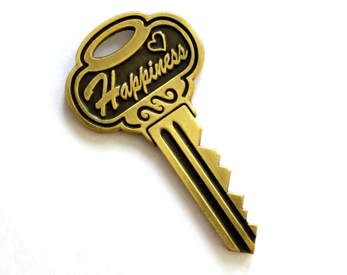 Key Pin Graduation Pin Retirement Pin Steampunk Pin  / Feminism Pin / Clever Pin / Sassy Pin Pun Punny graduation gift