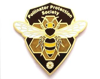 Honey Bee Pin - Hard Enamel