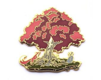 LE 100 Autumn Dryad - Hard Enamel Pin