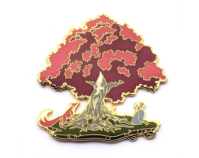 Available August 14th at 1:00 PM EST -  LE 100 Autumn Dryad - Hard Enamel Pin