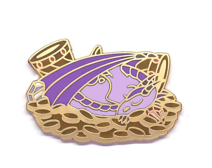 Dragon Enamel Pin - Dragon Pin - Dragon Badge