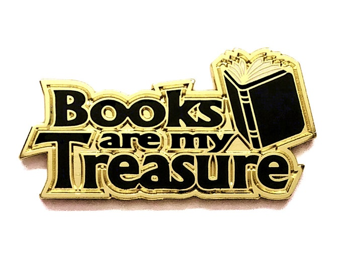 Bookish Pin - Hard Enamel - Second Sale