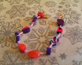 Bracelet (pink and multicolor)