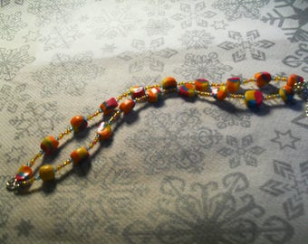 very pretty unique and original bracelet multicolor