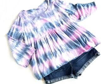 Tie dye shirt women, hippie shirt women, festival shirt, boho shirt for women, boho top, summer shirt, hippie clothing, festival clothing