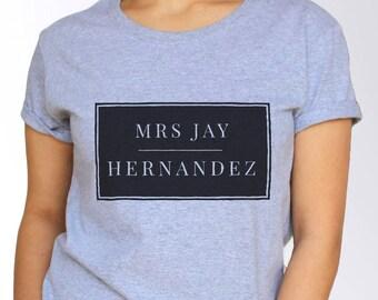 Jay Hernandez T shirt - White and Grey - 3 Sizes