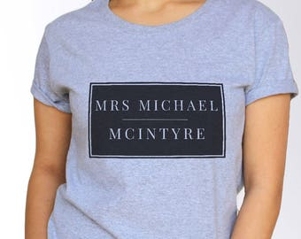 Michael Mcintyre T shirt - White and Grey - 3 Sizes