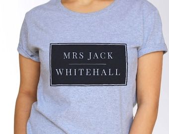 Jack Whitehall T shirt - White and Grey - 3 Sizes