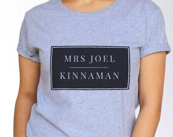 Joel Kinnaman T shirt - White and Grey - 3 Sizes