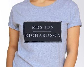 Jon Richardson T shirt - White and Grey - 3 Sizes