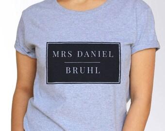 Daniel Bruhl T shirt - White and Grey - 3 Sizes