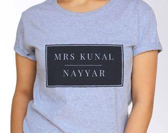 Kunal Nayyar T shirt - White and Grey - 3 Sizes