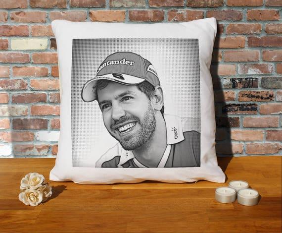 Sebastian Stan Pillow Cushion 16x16in