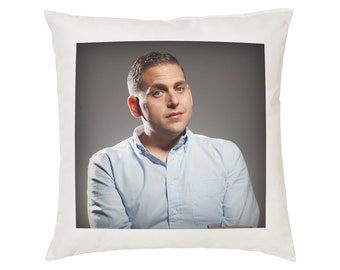 Jonah Hill Pillow Cushion - 16x16in - White