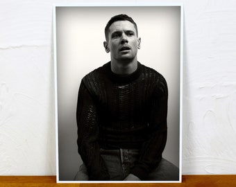Jack O'Connell Poster Print - 2 sizes - A4 and A3