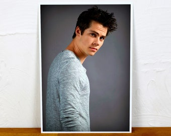 Dylan O'Brien Poster Print - Colour and BW - 2 sizes - A4 and A3