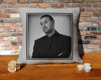 Paddy McGuinness Pillow Cushion - 16x16in - Grey