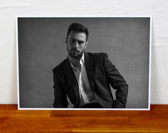 Aaron Taylor-Johnson Poster Print - 2 sizes - A4 and A3