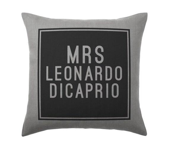 Leonardo DiCaprio Pillow Case