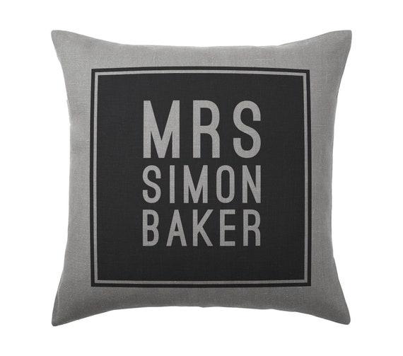 Simon Baker Cushion Pillow Cover Case Gift