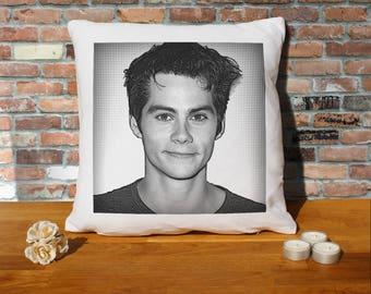 Dylan O'Brien Pillow Cushion - 16x16in - White