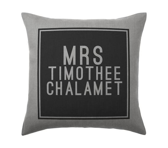 Timothee Chalamet Pillow Cushion