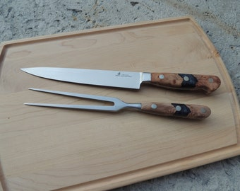 Stainless Steel Carving Set