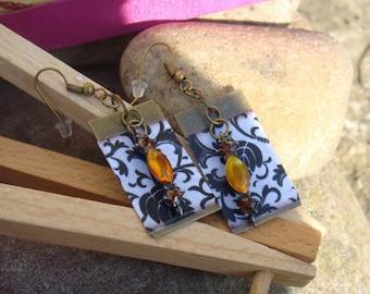 Swarovski Baroque style earrings