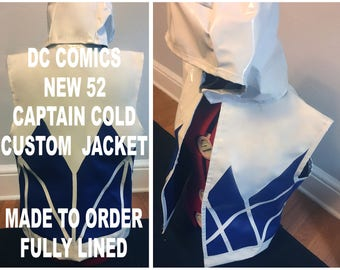 New 52 Captain Cold Jacket