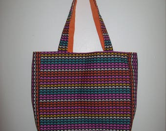 Colorful Flower Tote
