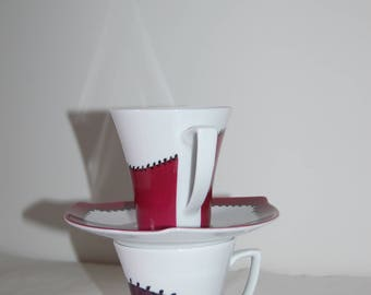 Duo of coffee cups