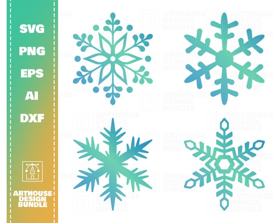 Frozen Snowflake Svg Snowflake Clipart Svg Christmas Etsy