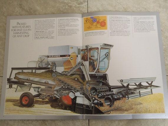 ALLIS-CHALMERS L3 M3 F3 Gleaner combine Booklet brochure