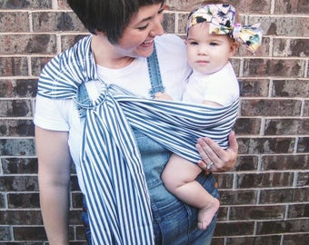 Large Stripe Ring Sling