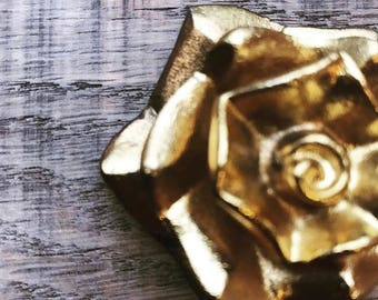 Reclaimed wood box and brass cuff bracelet