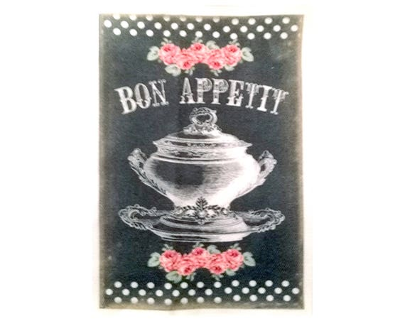 """Collection """"Bon Appetit"""" 8-7 - Appliqué thermocollant"""
