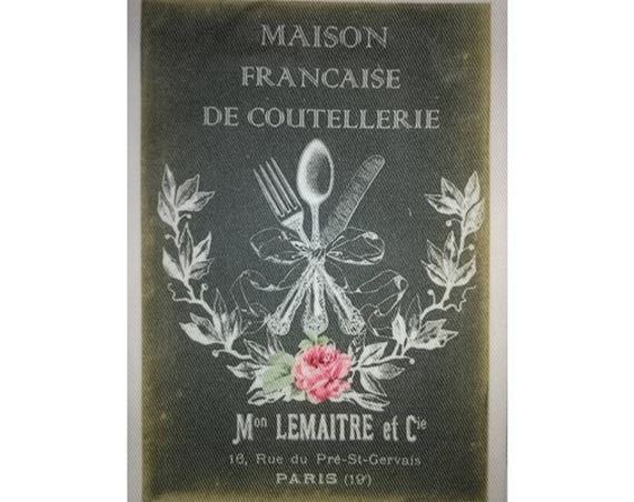 """Collection """"Bon Appetit"""" 8-2  - Appliqué thermocollant"""